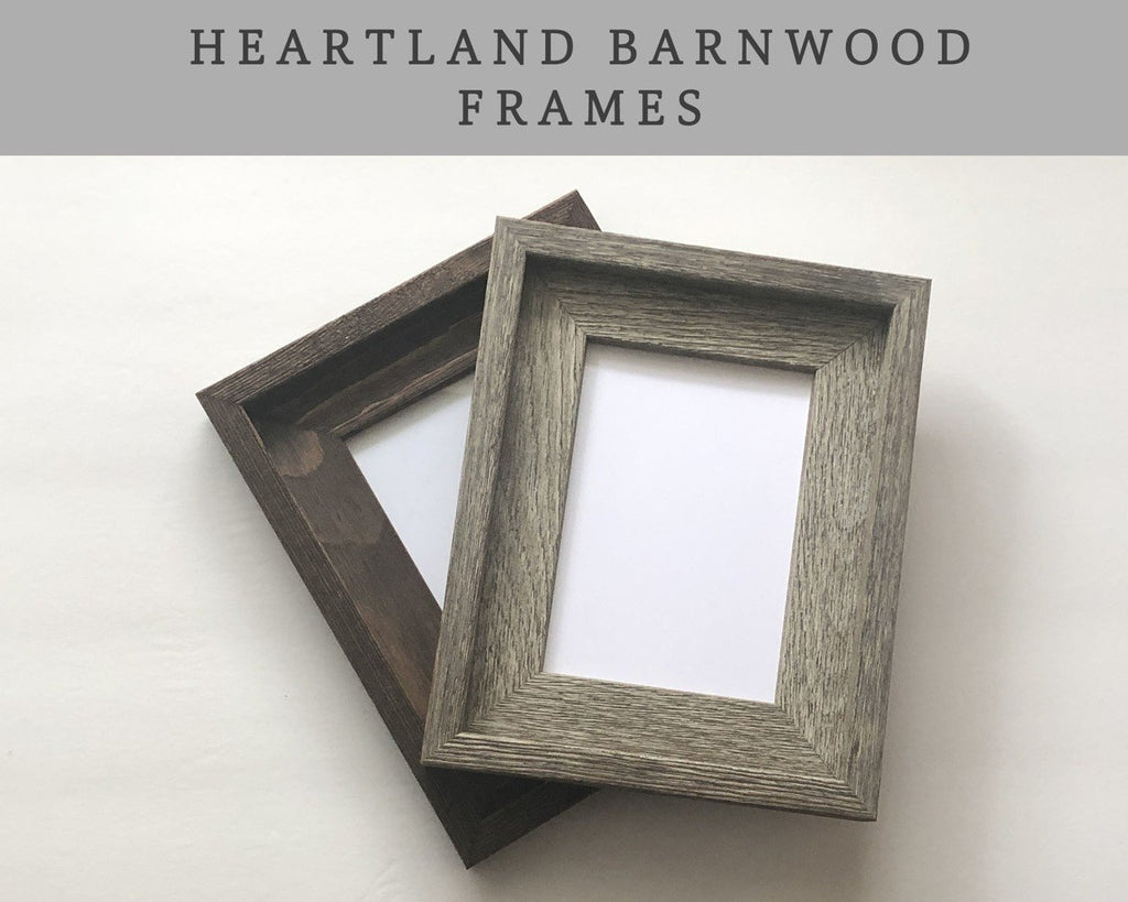 Add On a Heartland Barnwood Frame A Beautiful Remembrance