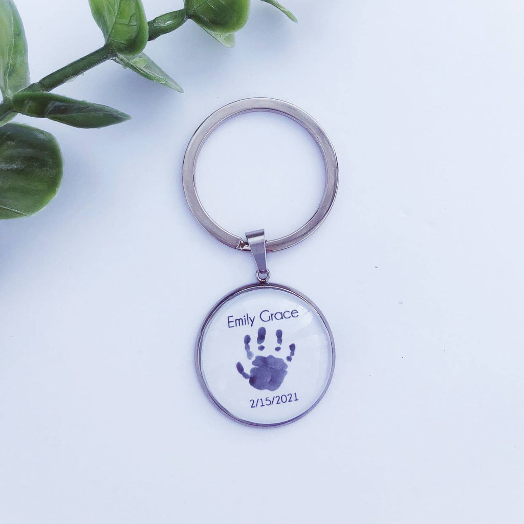 Baby Loss Keyring for Dad or brother Jewelry A Beautiful Remembrance