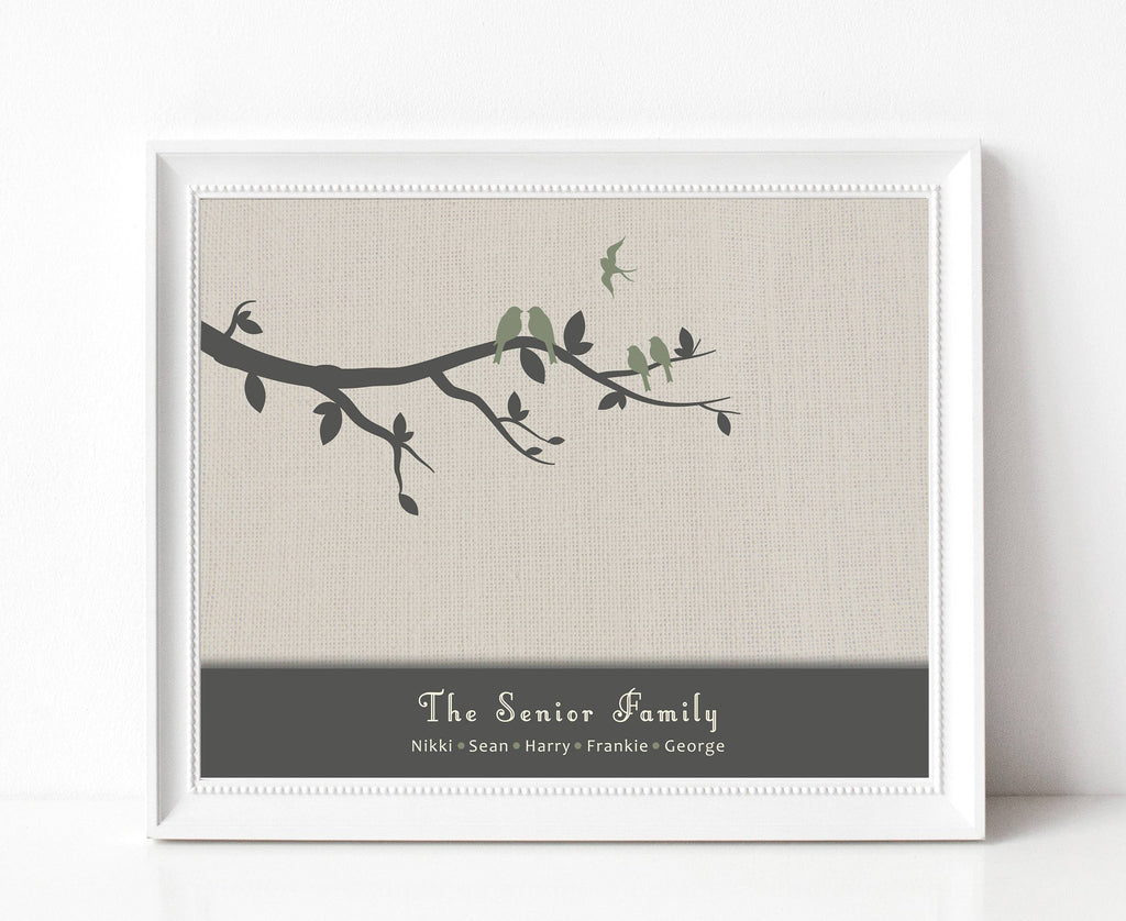 Family Tree Baby Remembrance Print A Beautiful Remembrance Printed by our lab & shipped to you 5x7