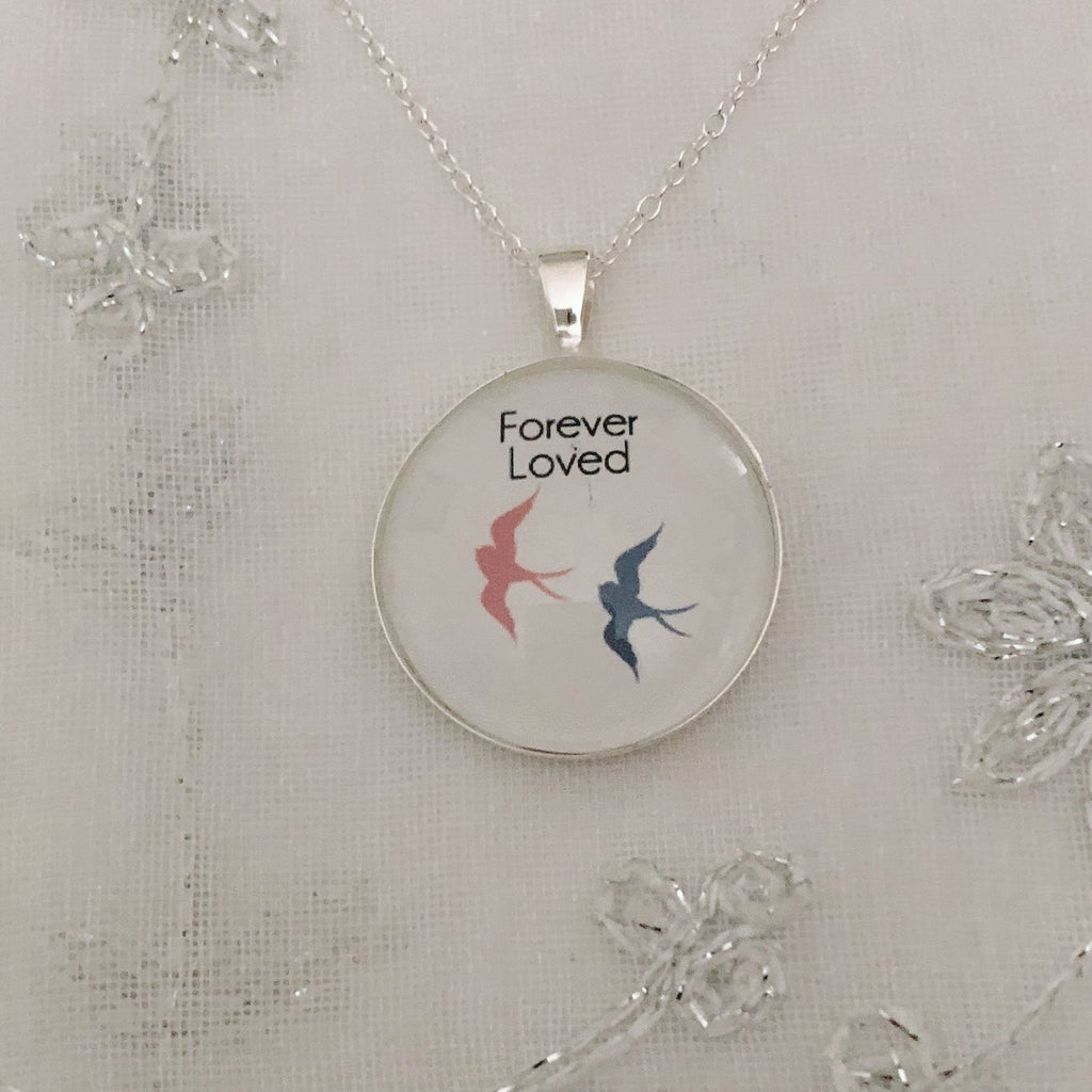 Sterling Silver Baby Loss Necklace Jewelry A Beautiful Remembrance