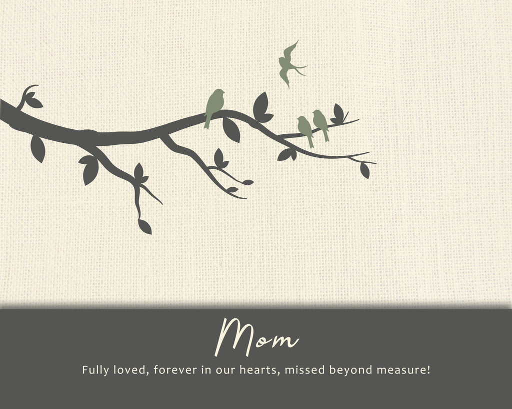 Sympathy Gift Loss of Mother Print A Beautiful Remembrance