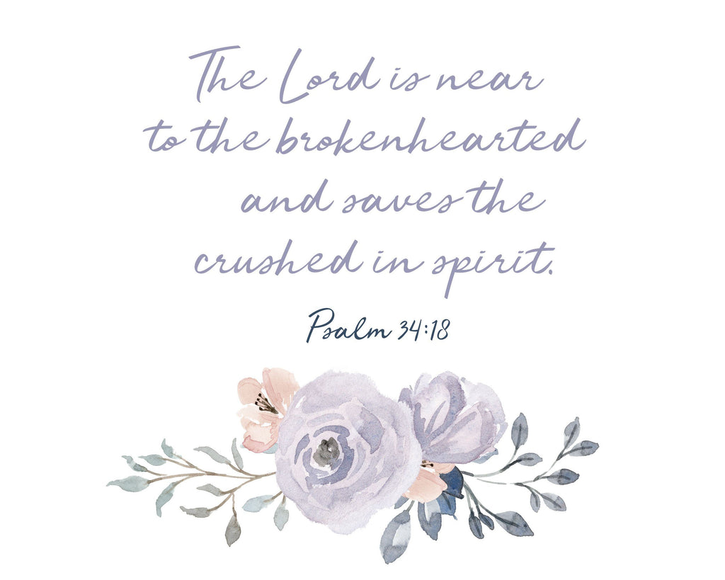 The Lord is Near Print A Beautiful Remembrance