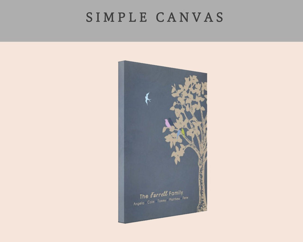 Upgrade to a Simple Canvas Wrap Product Upgrade A Beautiful Remembrance