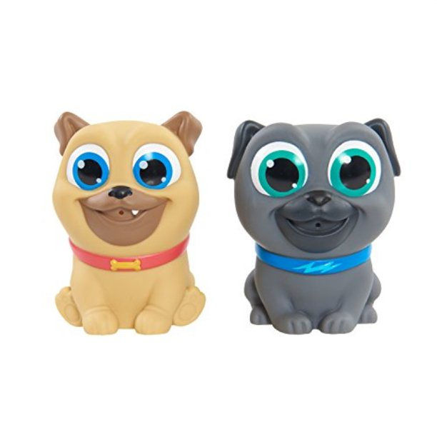 Puppy Dog Pals Bath Squiters, Multicolor
