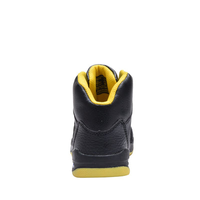 Boys' Basketball Sneakers High Top Kids Shoes 3 Colors Beige/Black, Black/Red, or Black/Yellow Sizes 10-4