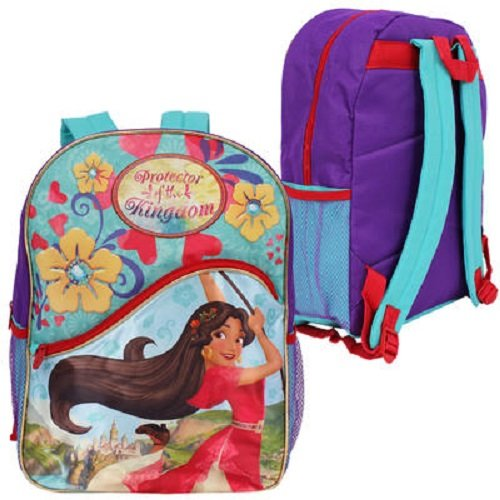"Disney Elena of Avalor Girls' 16"" Backpack Protector of the Kingdom - Multicolored"