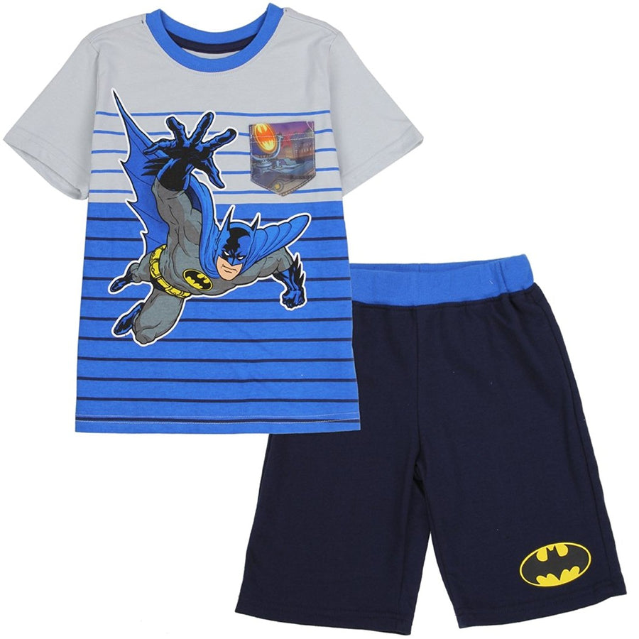 DC Comics Batman Toddler Boys' 2-Piece Top and Short Set
