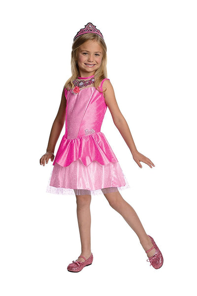 "Barbie Deluxe Kristyn Costume ""Barbie In The Pink Shoes"" Ballerina Dress, Toddler, Sizes Small and Medium"