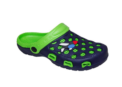 Spring Summer Toddler Boys' Slingback Sandal Clogs w/Cute Appliqué Detail for Beach, Pool Or Everyday