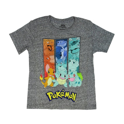 Pokemon Boys' Short Sleeve Graphic T-Shirt In Two Graphic Prints