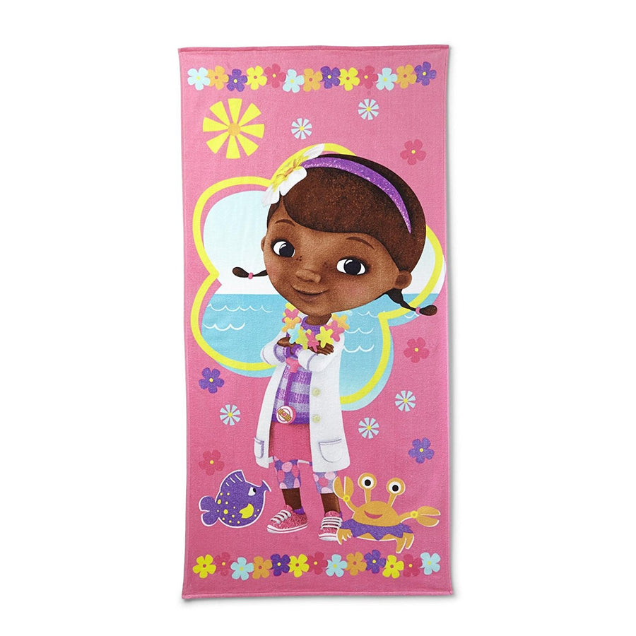 Disney Doc McStuffins Beach Towel Pink
