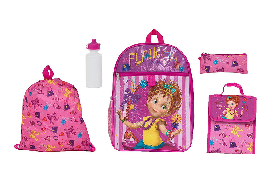 My Little Pony Pink Lunch Bag with Water Bottle Shoulder Strap Back to School