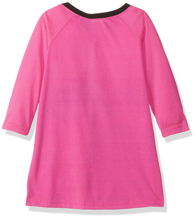 Nickelodeon Big Little Girls' JoJo Nightgown, Fuchsia