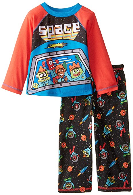 Yo Gabba Gabba Toddler Boys' Long Sleeve 2-Piece Pajama Set