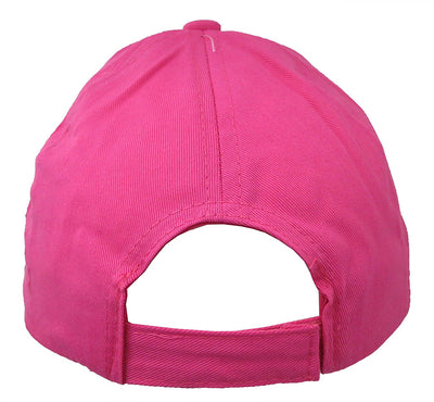 "Shopkins Girls Pink ""Love"" Baseball Cap"