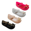 Babe Girls' Mary Jane Shoe Sandal with Butterfly - Fashion Jelly Shoes - 4 Colors - Sizes 5-10 (Baby/Toddler)