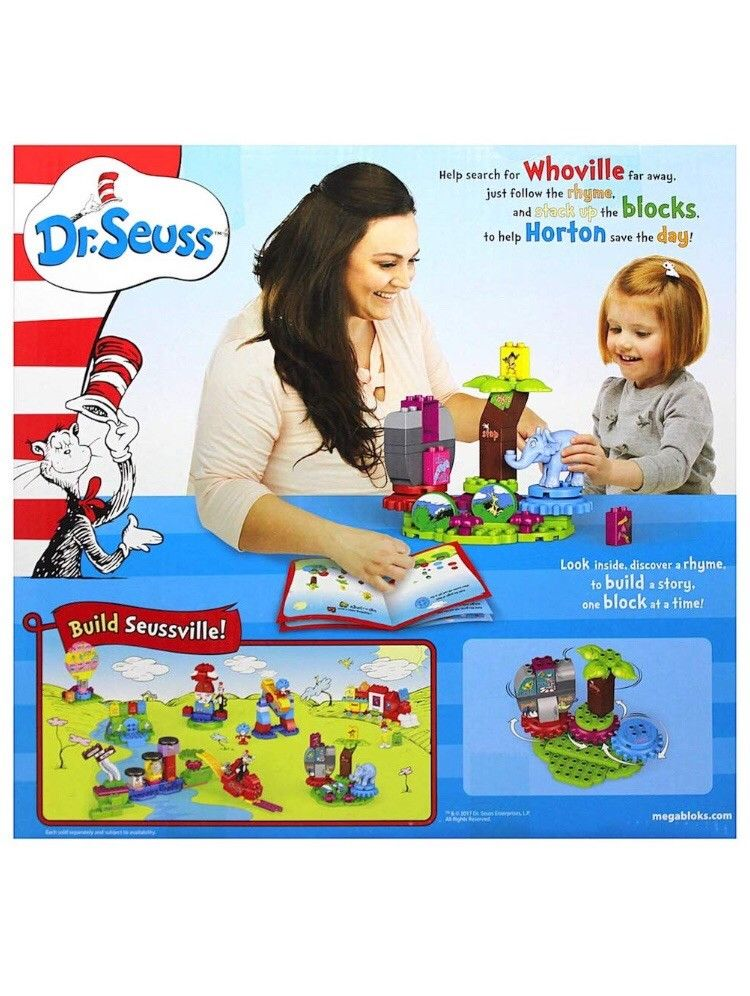 Dr. Seuss Horton Finds a Who Mega Bloks 40 pieces