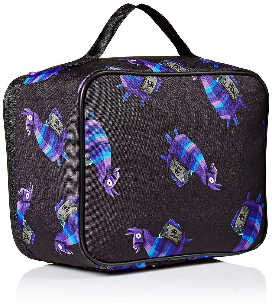 FORTNITE Loot Llama Kids' Little Amplify Lunch Bag - Black