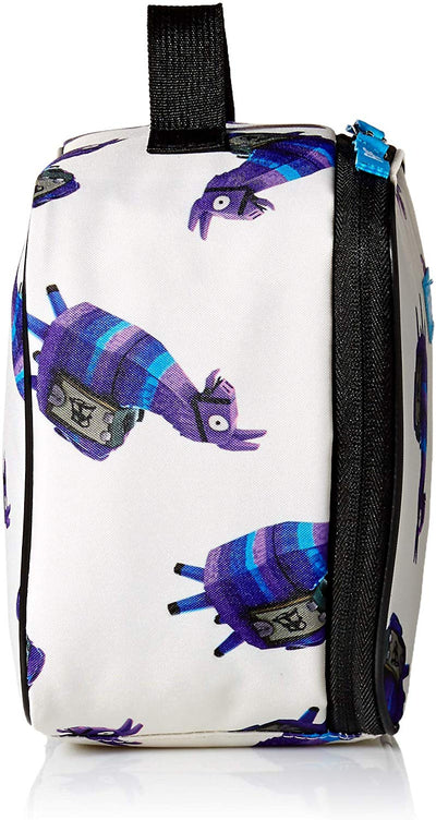 FORTNITE Loot Llama Kids' Little Amplify Lunch Bag - White
