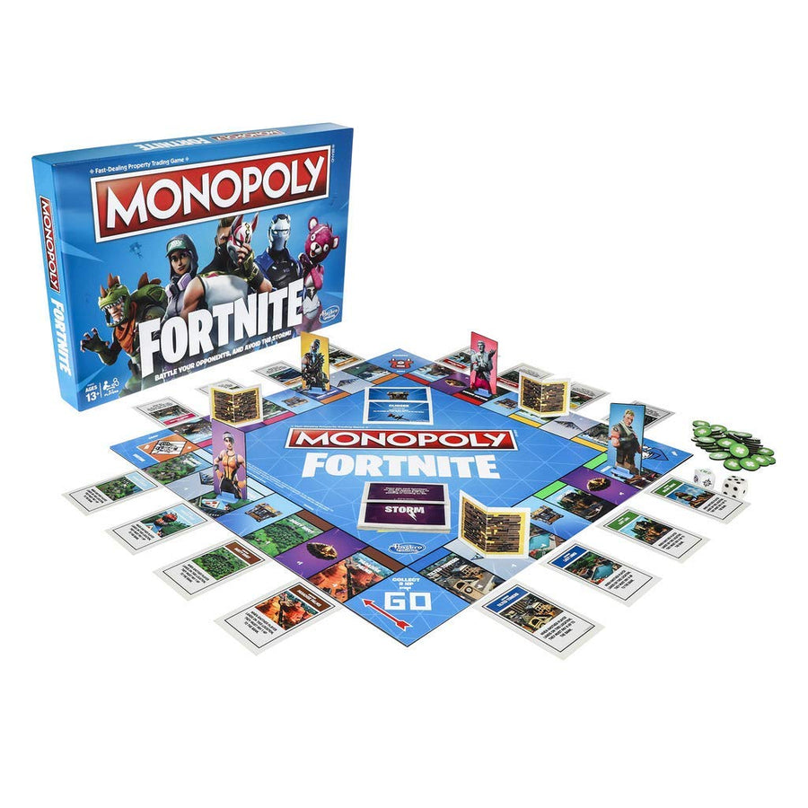 Monopoly Fortnite Edition Board Game Inspired by Fortnite Video Game