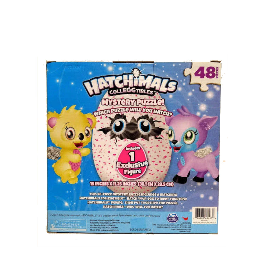 Hatchimals CollEGGtibles Mystery Puzzle PLUS 1 Exclusive Hatchimal Figurine