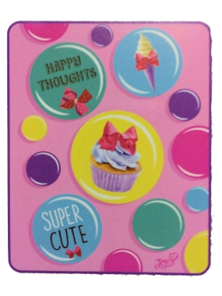 "Nickelodeon JoJo Siwa Cupcake Silky Soft Throw Blanket, 40"" x 50"""
