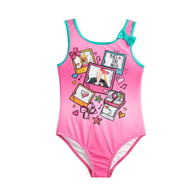Nickelodeon JoJo Siwa Big Girls' One Piece Swimsuit - Pink or Blue