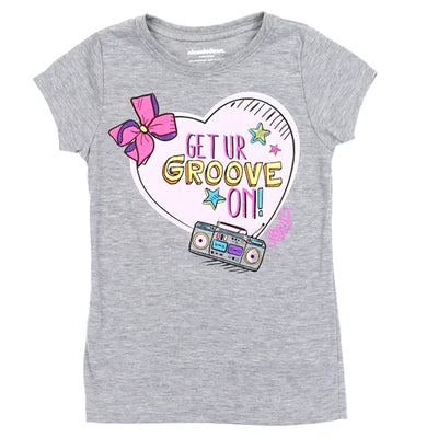 Nickelodeon JoJo Siwa Short Sleeve Girls' T-Shirt, Assorted Colors and Sizes
