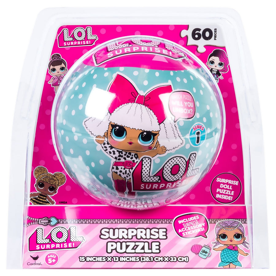 L.O.L. Surprise! 60pc Surprise Puzzle Ball