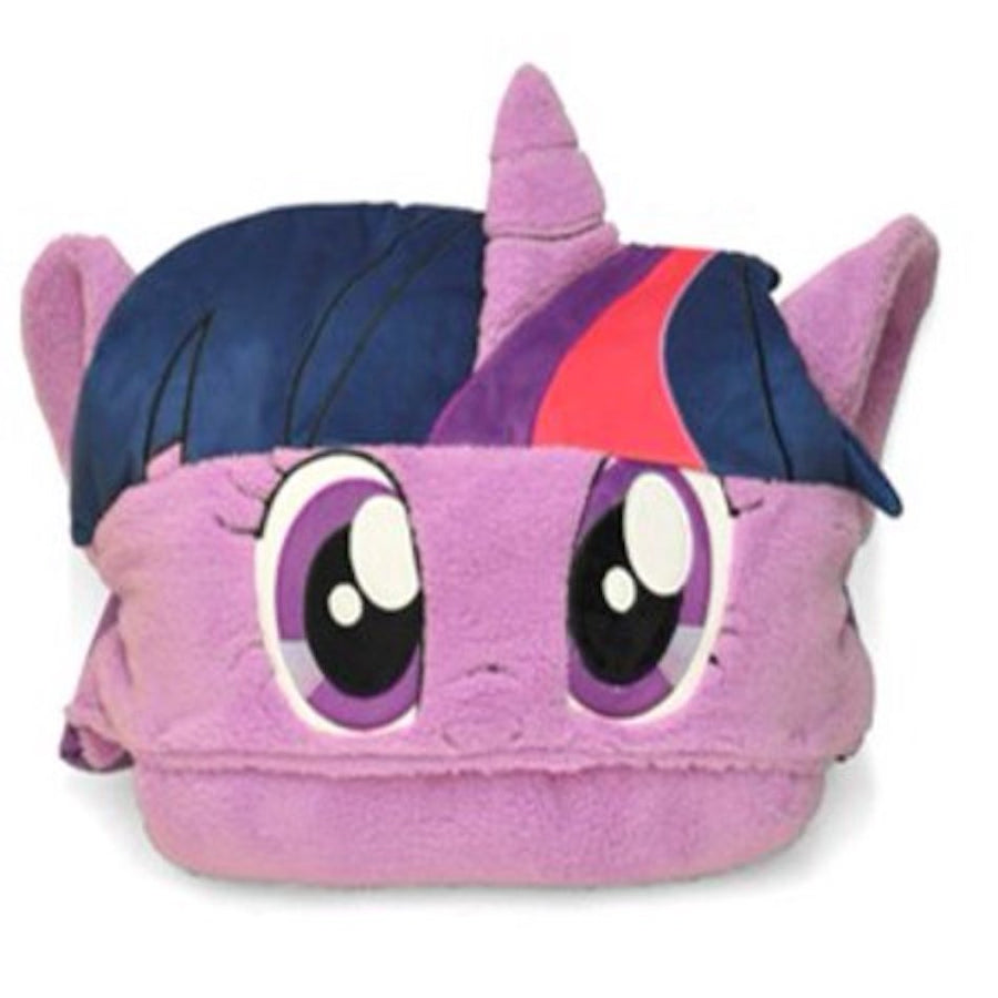 My Little Pony Hooded Sleeping Bag Nap Mat, Princess Twilight Sparkle - Pink/Purple
