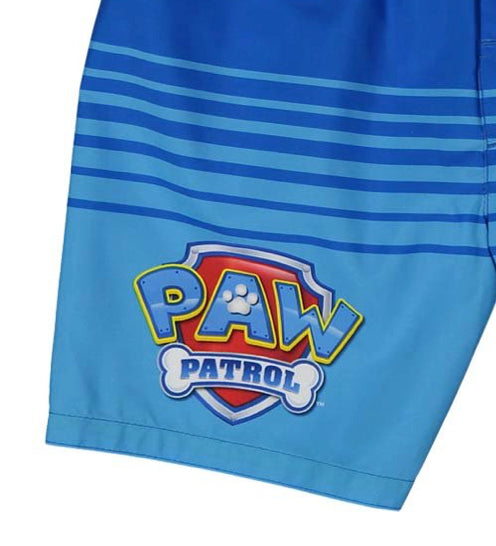 PAW Patrol Toddler Boys' Bathing Suit Kids Swim Trunks, 2T-4T, Blue