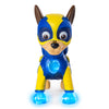 PAW Patrol Mighty Pups Special Edition Figures with Light-up Badge and Paws, Marshall and Chase Set