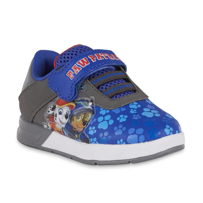 Nickelodeon Toddler Boys' PAW Patrol Athletic Sneaker Shoe, Blue/Gray, Sizes 7, 8, 9, 10