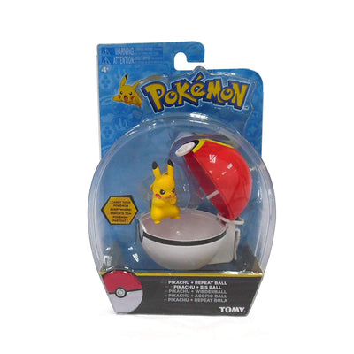 Pokémon Clip 'n' Carry Poké Ball Pikachu and Repeat Ball