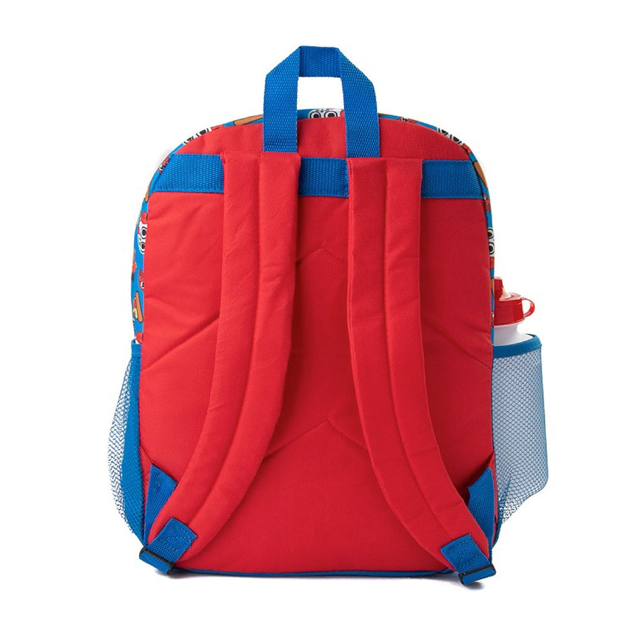 "Ryan's World 5-Piece 16"" Backpack Set For Kids' - Red/Blue"