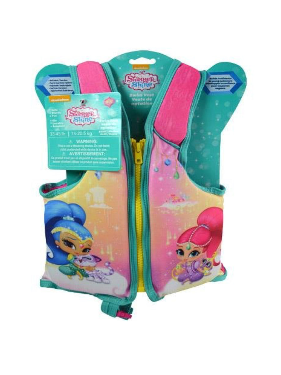 Shimmer and Shine Child Swim Vest, Small/Medium & Medium/Large