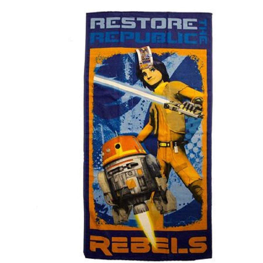 "Star Wars Rebels Restore Beach Towel, 58"" x 28"", Multi"