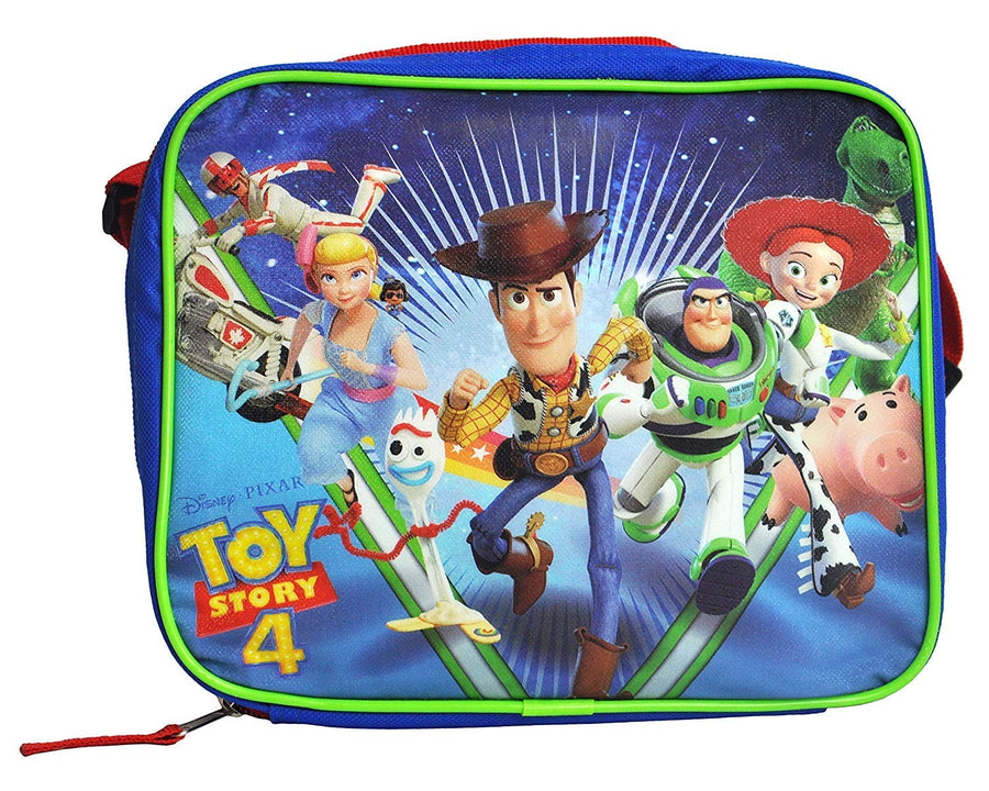 Disney Pixar Toy Story 4 Deluxe Lunch Box Insulated Soft Case Lunch Bag with Adjustable Shoulder Strap