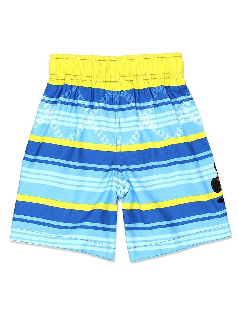 Thomas The Train & Friends Toddler Boys Swim Trunks Swimwear, Blue/Yellow