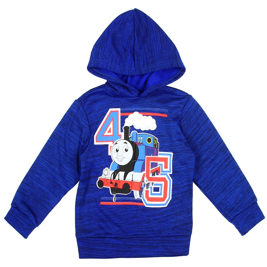 Thomas The Train Toddler Boy's Fleece Pullover Hoodie - Royal Blue - Sizes 2T, 3T, and 4T
