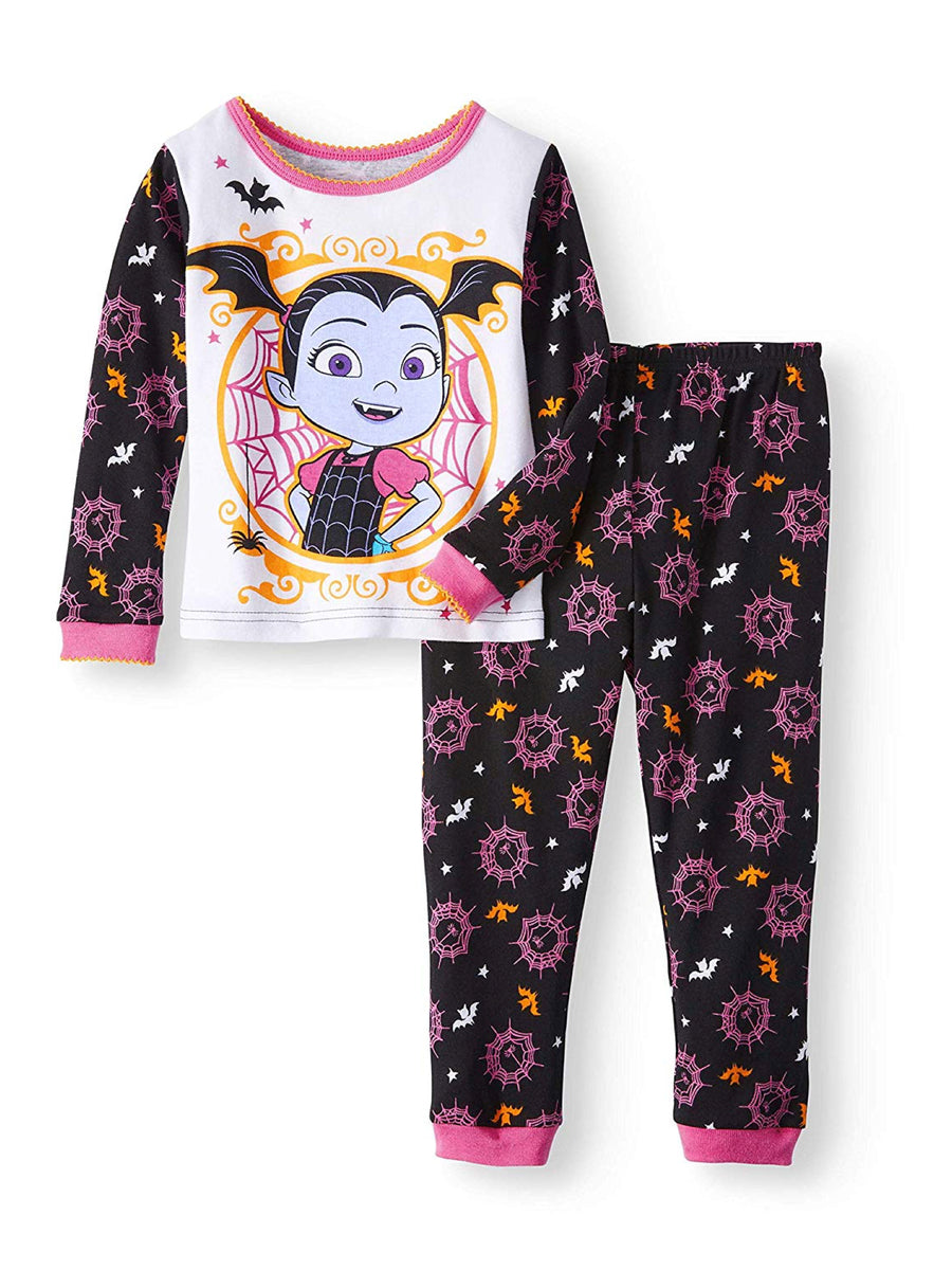 Disney Vampirina Little Girls Toddler Halloween Pajama Set, Multi-colored, Sizes 3T-5T