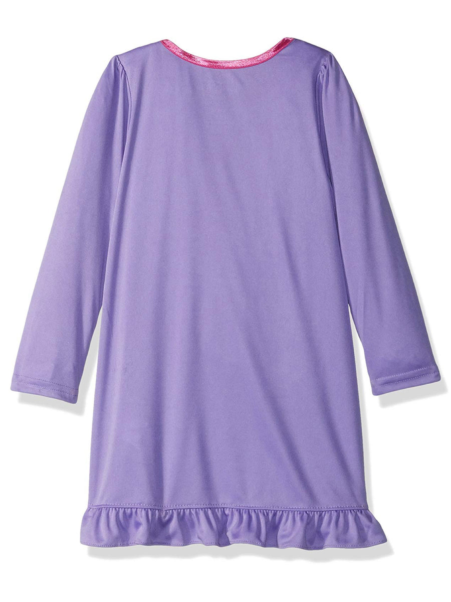 Disney Toddler Girls' Vampirina Nightgown, Sweet Violet, 3T & 4T