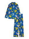 Pokémon Boys Pajama 2-Piece Coat Set, Sizes 6-12, Blue