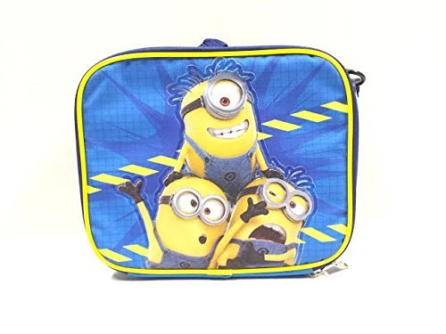 2015 New Despicable Me Minions Lunch Bag, Blue/Yellow