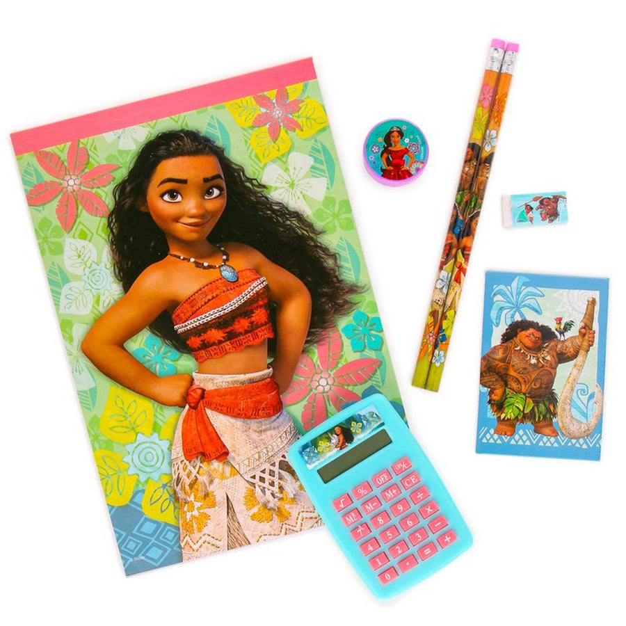 Disney Moana 7-Piece Calculator Set