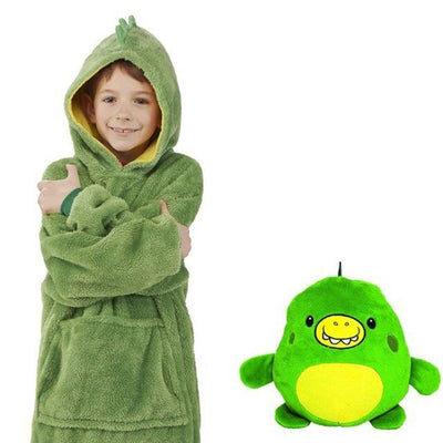 Children Unicorn Hooded Ontel Huggle Pets Dinosaur Animal Hoodie