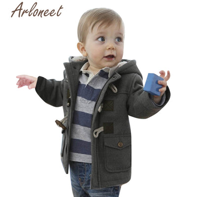 Baby Boys Warm Winter Thick Coat Outerwear Casual Jacket