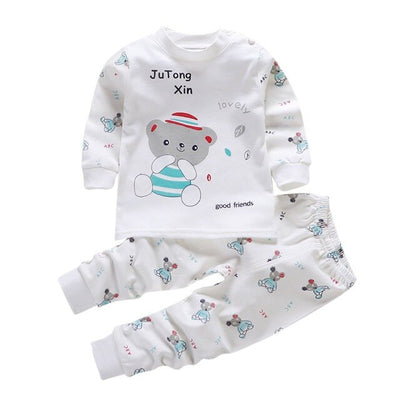 Baby Boy Long Sleeve Sleepwear