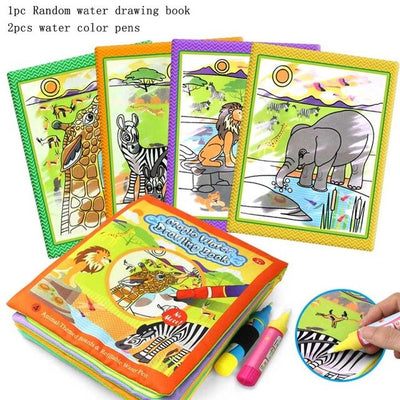 Pen Baby Educational Toy Cloth Reusable Water Wow Doodle Learning Pad
