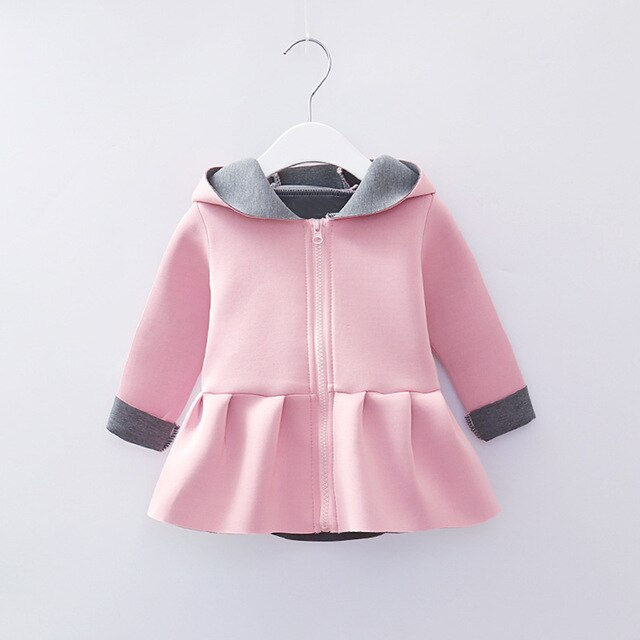 Girls Princess Coat Jacket